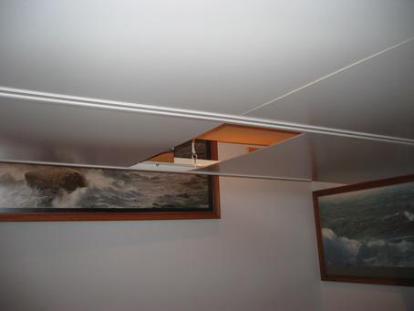 Como ocultar cables en el techo