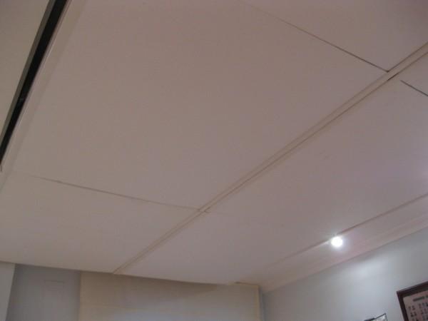 Techos de corcho blanco materiales de construcci n para - Falsos techos decorativos ...